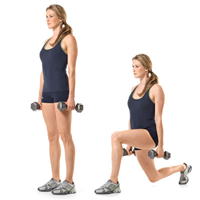 The Lunge With Twist Exercise The Lunge With Twist Exercise new foto